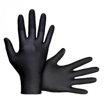 כפפות ניטריל שחורות