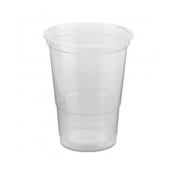 כוס פלסטיק 250 לשתייה קרה 40יח' בשרוול