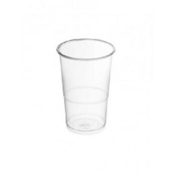 """כוס פלסטיק לשתייה 330סמ""""ק (כוס שליש ) 40יח' בשרוול"""