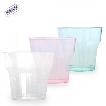 כוס קריסטל קטנה, 25יח' בצבעים