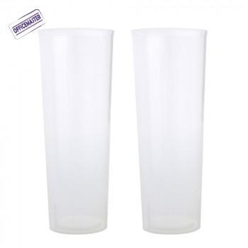 כוס לונג 10יח' בשרוול
