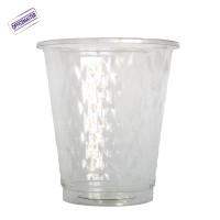 כוס פלסטיק איכותית דגם יהלום 50יח' בשרוול